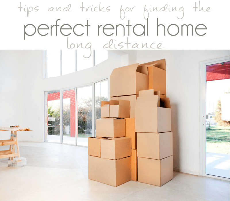 How to find a Rental from far away