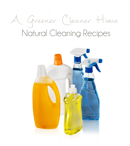 Natural Home Cleanin Recipes