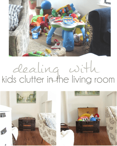 Living room toy storage - Pocketful of Poseis