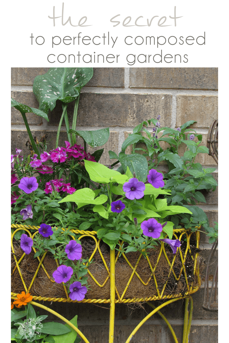 How to get perfect flower pots - Pocketful of Posies