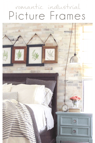Romantic Industrial Picture Frames
