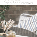 Trash to Treasure Vintage Patio Set Makeover