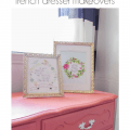 DIY French Dresser makeover