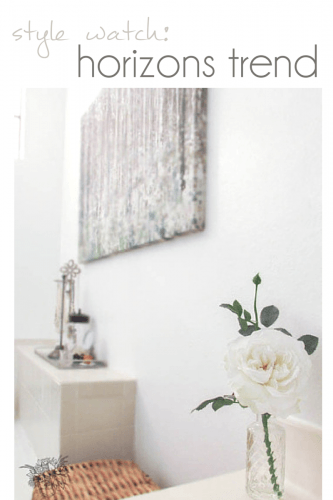Home Decor Style Watch/ Style Predicitions - Pocketful of Posies