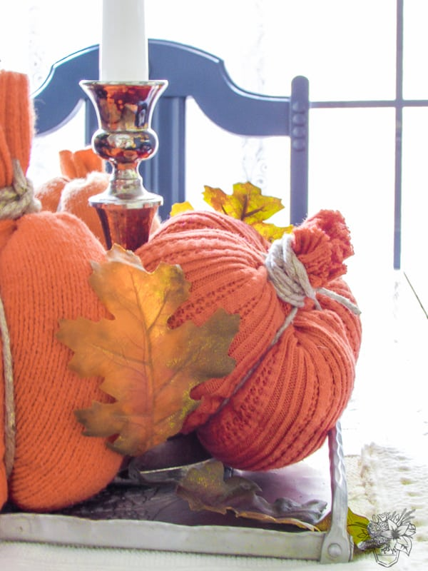 Fall Budget Decorating Ideas Using Thirfted Finds - Pocketful of Posies