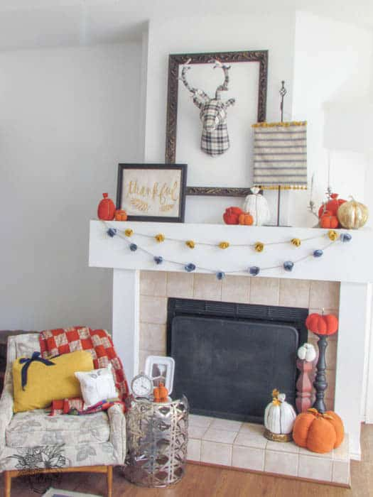 Fall Rose Garland - Pocketful of Posies
