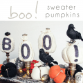 Halloween Decorating Ideas Boo sign - Pocketful of Posies