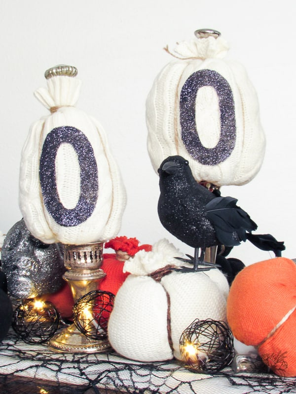 Boo Sign DIY Halloween Decor - Pocketful of Posies