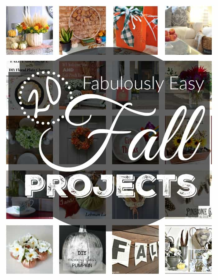 20 Easy Fall Projects
