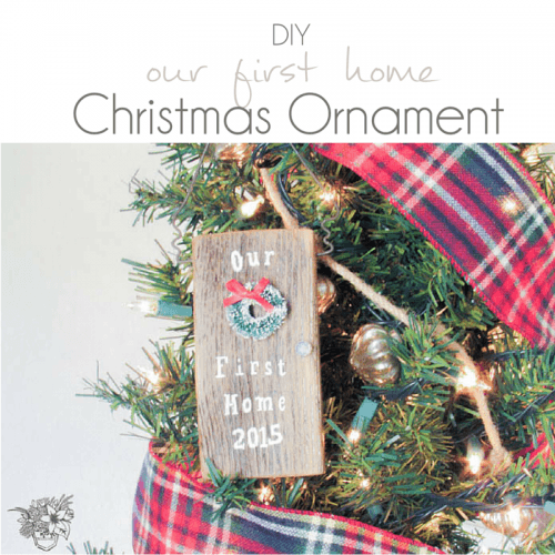 DIY Salvage Wood Ornament - Pocketful of Posies