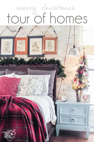 Country Christmas Home Tour - Pocketful of Posies