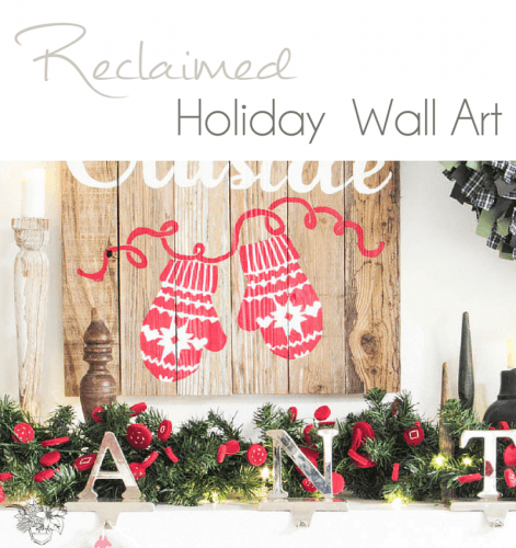 Salvaged Wood Holiday Wall Art