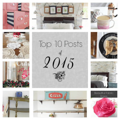 Pocketful of Posies Top 10 Posts of 2015