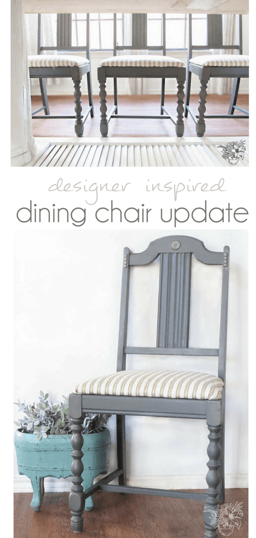 Dining Chair Thrift Store Makeover
