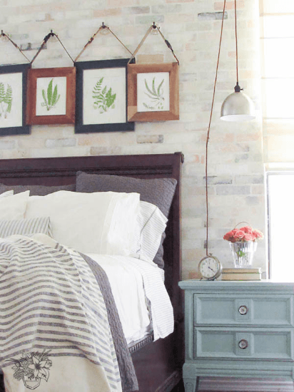 Romantic Industrial Wall Art Upgrade