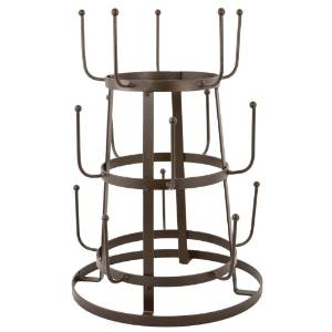 Romantic Industrial Bottle Rack
