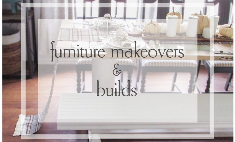 DIY Furniture with plans and step by step instructions