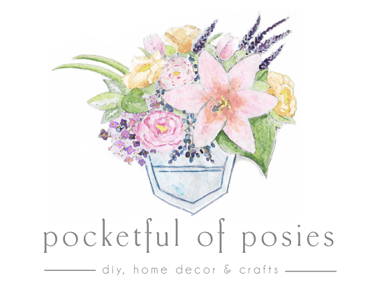 Pocketful of Posies - diy, home decor & crafts