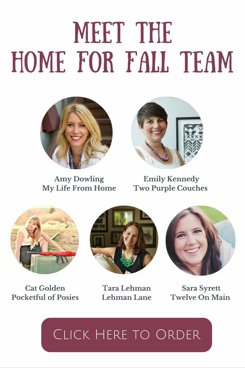 Home For Fall E-Book, Fall Deorating, Fall Recipes - Pocketful of Posies