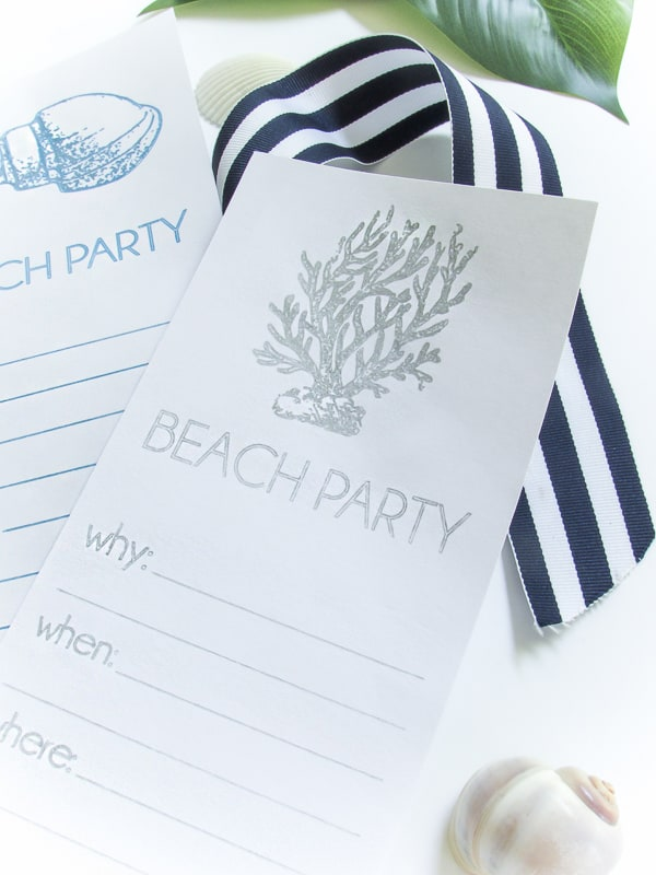 Beach Invitations (1 of 1)