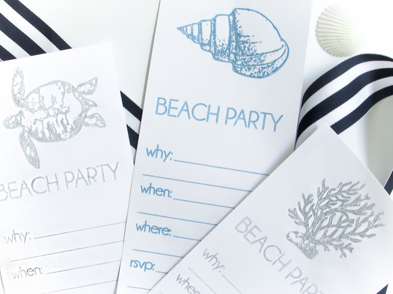 Beach Invitations (1 of 5)