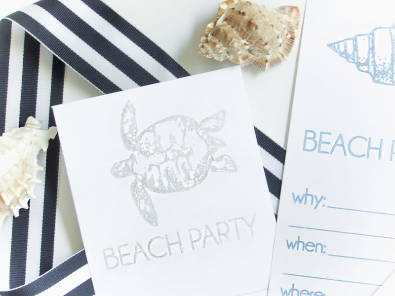 Beach Invitations (3 of 5)