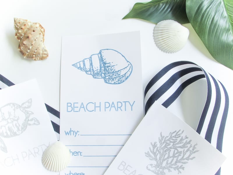 Beach Invitations (5 of 5)