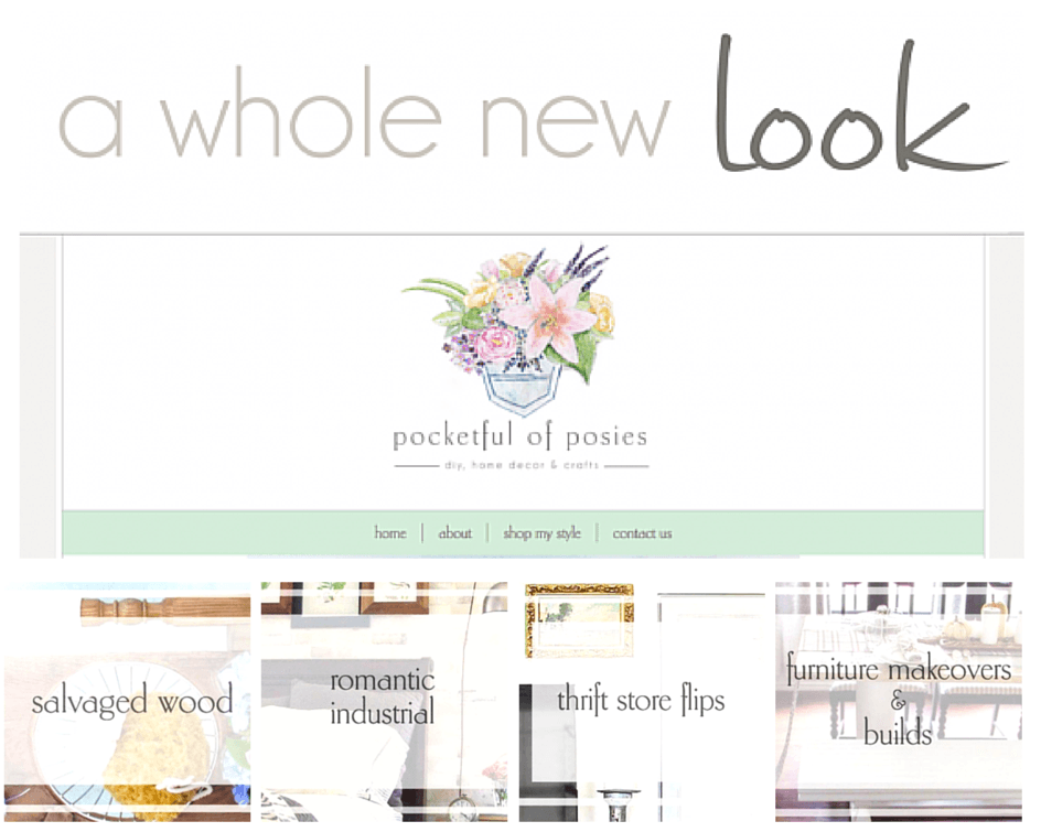 New site - Pocketful of Posies