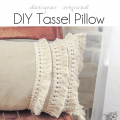 Tassel Pillow Tutorial - Pocketful of Posies