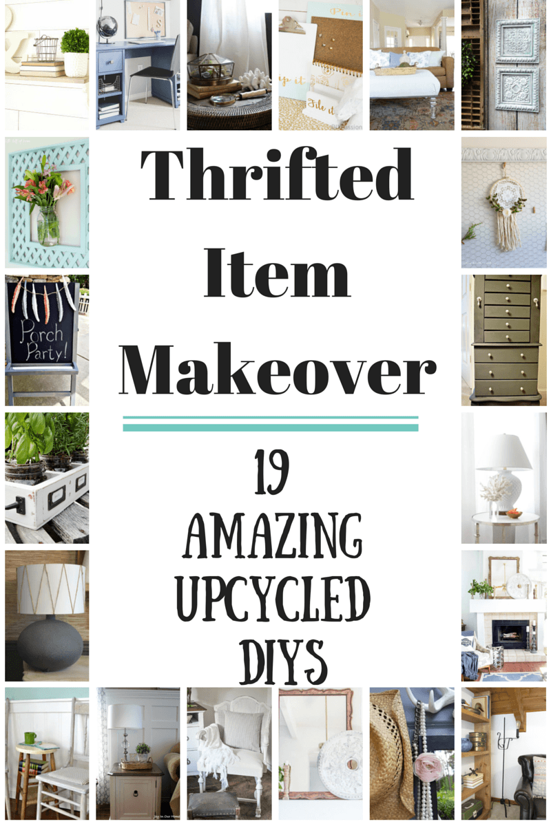 Thrift Store Item Makeover Hop - Pocketful of Posies