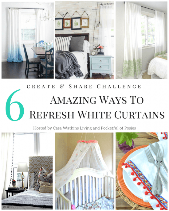 White Curtain Refresh, Makeover White Curtains, Decorate with White Curtains
