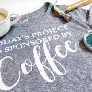 DIY Shirt, Coffee Shirt, Funny Shirt,