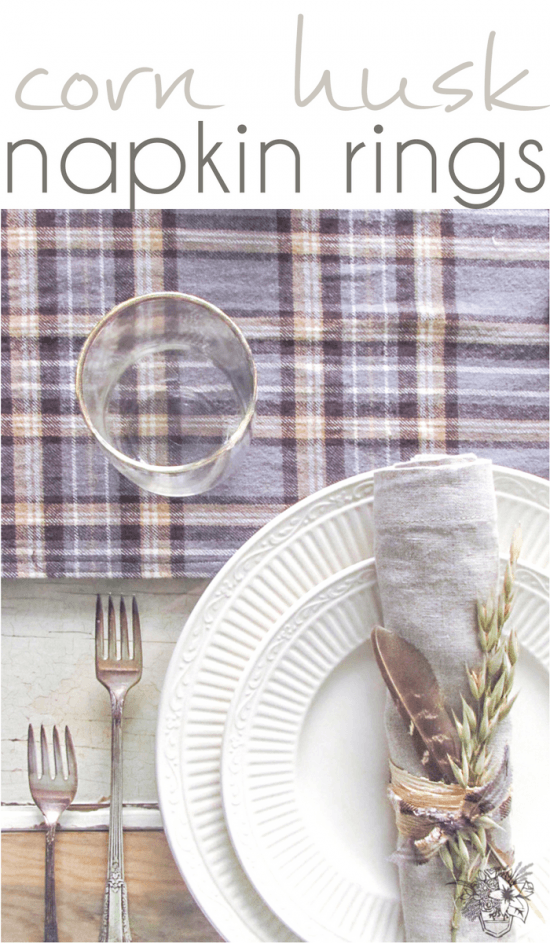 DIY Napkin Rings, DIY Thanksgiving Table Decor, Thanksgiving Decor, Thanksgiving Table Setting