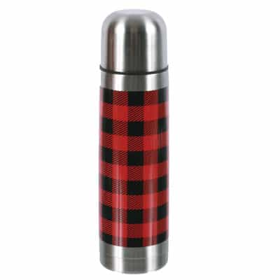 woodland-river-stainless-steel-buffalo-plaid-thermos-50537