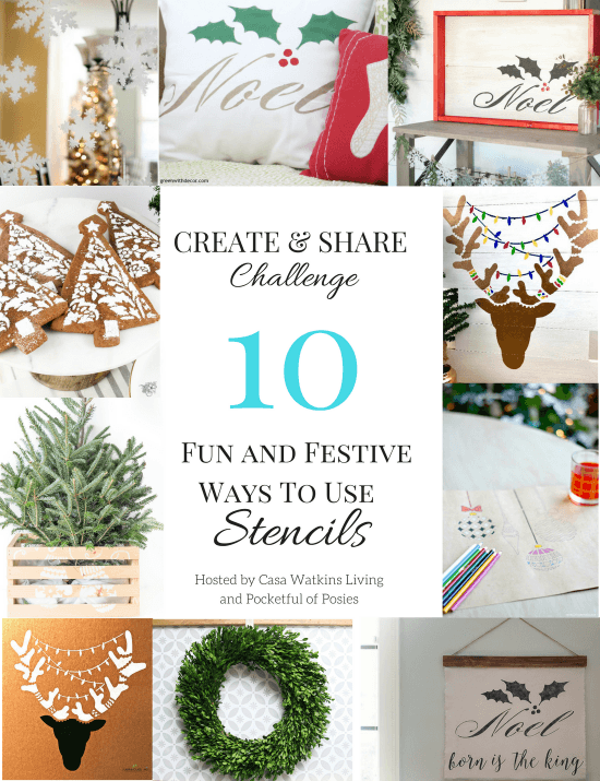 fun ways to use stencils
