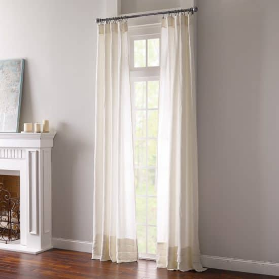 15 Long White Curtains With Personality Pocketful Of Posies