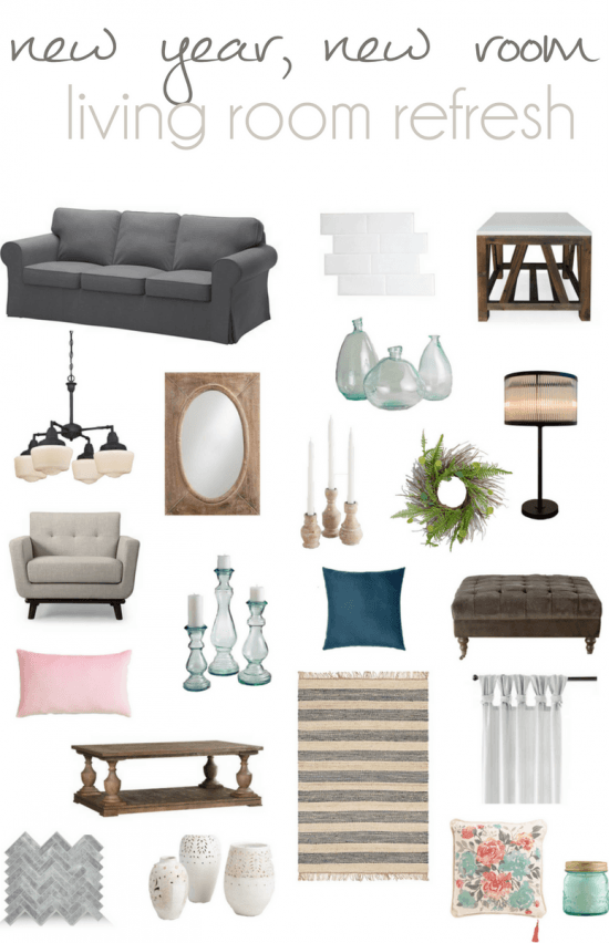 Living Room Refresh A Design Plan Pocketful of Posies