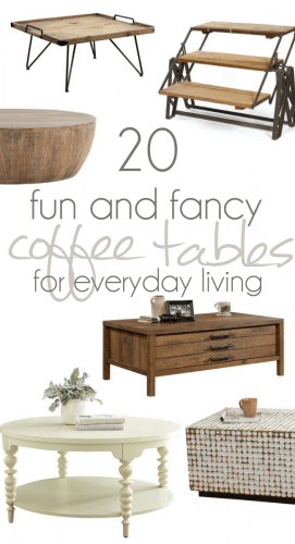 Finding the Perfect Coffee Table, Farmhouse Coffee tables, Industrial Coffee Tables, Mid Centry Coffee Tables