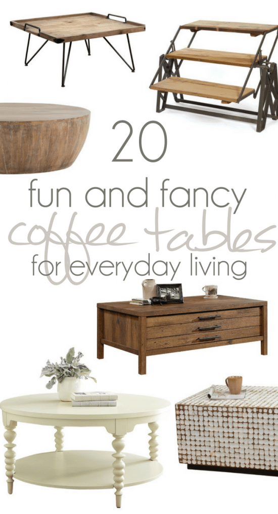 Finding The Perfect Coffee Table Farmhouse Tables Mid Centry