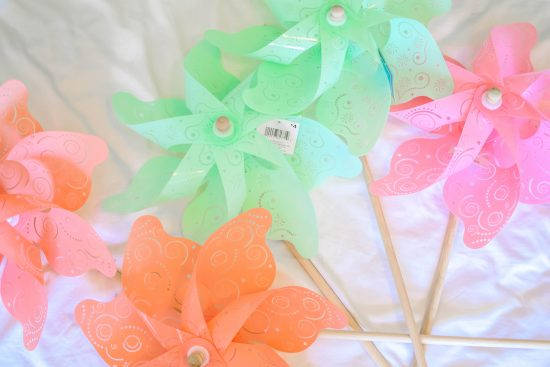 10 minute Pinwheel Wall Decor, Kids Wall Decor