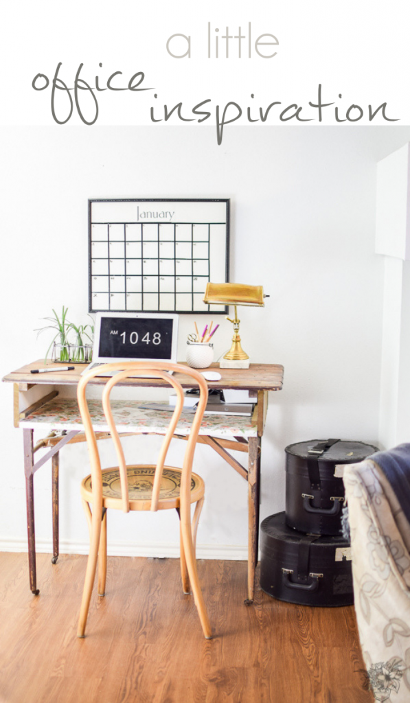 Office Inspiration, Home Office Design, Small Office Spaces, A little Office Inspiration