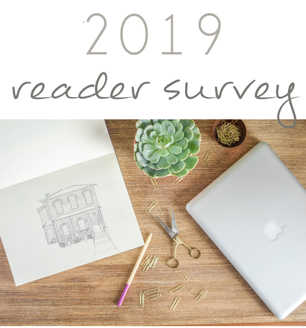 Take our 2019 Reader Survey for a chance to win a Starbucks Gift Card!!